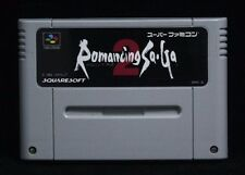 Romancing Sa Ga 2- Japan SNES SFC Nintendo Super Famicon GAME ONLY