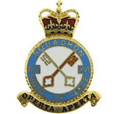 Queens Crown Royal Air Force 16 XVI Squadron Unit RAF PLAQUE Badge - DC71