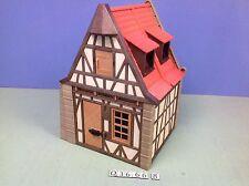 (O3666.8) playmobil maison moyen age pour chateau médiéval 3666 3450 3448 3447