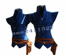 Enchanted Tangled Prince Flynn Rider Halloween vest cosplay costume