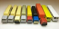 Set of trucks with trailers & buses for railway mockup H0 VINTAGE 1979 Piko
