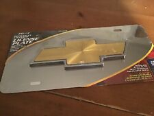 Chevrolet  Stainless Steel License Plate -  NEW