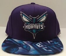 Charlotte Hornets NBA adidas Adjustable Fashion Snapback Hat / Cap - Buzz City