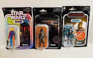 Star Wars Retro Collection Boba Fett Prototype Mandalorian Carbonized Cara Dune