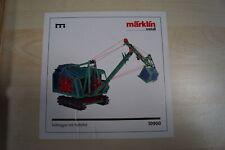"""Marklin 10900 Metall Baukasten """"SEIL BAGGER CRANE"""""""