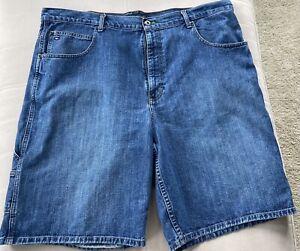 Vintage Men's Tommy Hilfiger Carpenter Style Denim Shorts Size 42  EUC