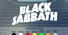 BLACK SABBATH VINYL DECAL STICKER CUSTOM SIZE/COLOR DIO SLEEP RAINBOW TROUBLE