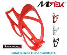 """0200 - Portaboraccia """"MV-TEK"""" modello ITA Rosso per Bici 26""""-28"""" Corsa - Pista"""