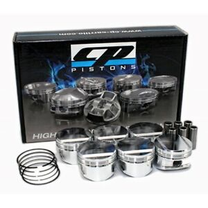 CP Forged Piston Set for Nissan Skyline R34 25GT-t RB25DET Neo 6 (86.5mm, 9:1)