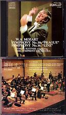 Otmar SUITNER: MOZART Symphony No.36 & 38 Prauge DENON Japan CD Sinfonien