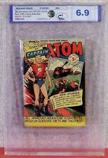 CAPTAIN ATOM (The Advent. Of), #1, 1950, Nationwide Publish. Graded 6.9 MCG