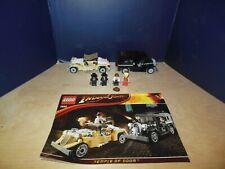 Lego 7682 Indiana Jones Shanghai Chase Minifigures Instructions 100 % Set