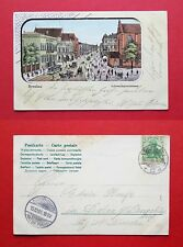 Litho AK BRESLAU in Schlesien 1905 Blick in die Schweidnitzerstasse    ( 36676