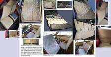 FIAT PANDA 30-45 COPRISEDILI NERO LUCIDO 2.0 cod 333 SERIE COMPLETA *2.2017*