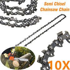 "10X CHAINSAW CHAIN SEMI CHISEL 18"" 3/8"" 0.063"" 66 DRIVE LINKS STIHL MS260 MS660"