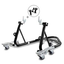 Motorbike Dolly Mover DS ConStands Rear Paddock Stand Workshop Lift black