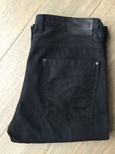 Levi's Levis Blue Star 05014 para hombre Negro Denim Jeans W 34 L 32 100% Original 501