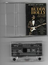 Buddy Holly - Words Of Love - audio cassette - 1993 - UK FREEPOST