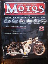 FASCICULE  8 MOTOS CLASSIQUES ROYAL ENFIELD BULLET 1938