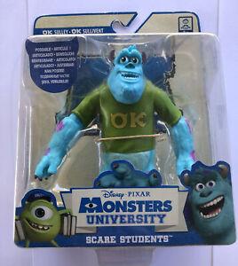 Disney Pixar Monsters Inc Sulley Posable Figurine Toy 13cm New Slight Box Wear