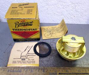 vintage Bridgeport Model #16 Thermostat, 1940-50 Chrysler 6 cyc, all Dodge