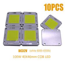 100W COB LED 4046 white 6000-6500K LED Chip Source for Flood Light 32V-36V 10PCS
