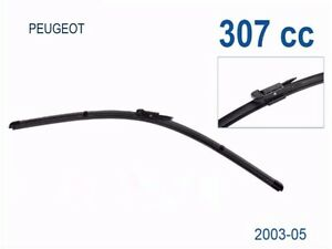 Windscreen Wiper Blades for Peugeot 307 (CC) 2003 2004 2005 (PAIR)