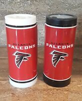New NFL Atlanta Falcons Salt & Pepper Shakers Set Filled & Sealed