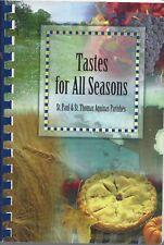WARREN MA 2005 ST PAUL & ST THOMAS CATHOLIC CHURCHES COOKBOOK TASTES FOR SEASONS