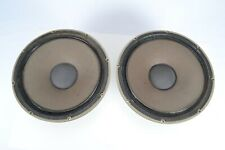 "Tannoy Monitor Gold 15"" Dual Concentric Speakers Type LSU/HF/15/8 - Vintage"