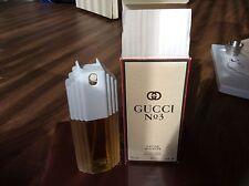 Rare Perfume Number No Gucci # 3 120ml Women Eau De Toilette Spray 4oz 1994 New