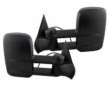 NEW ADR Power Towing Mirrors PAIR  / FOR 2003-2006 CHEVROLET GMC PICKUP TRUCK