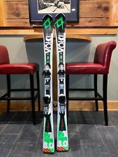 VOLKL boys multicolor downhill 137 skis, excellent condition, bindings included