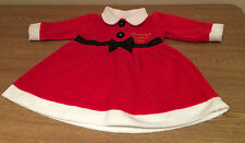 Christmas Baby Girl Santa Dress 0-3 months