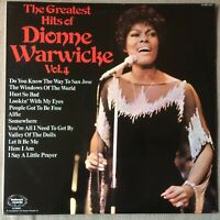 THE GREATEST HITS  OF DIONNE WARWICK  VOL 4  EX+/NEAR MINT VINYL LP
