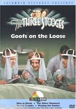 The Three Stooges - Goofs on the Loose Color + B&W NEW DVD