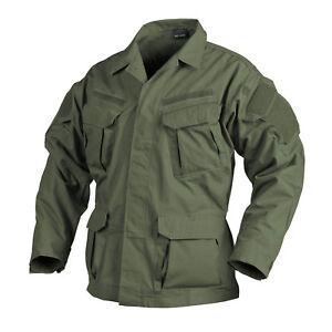 HELIKON TEX® SFU NEXT® Military Mens Field Jacket Shirt Ripstop - Olive Green