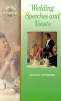 (Very Good)-Wedding Speeches and Toasts (Family Matters S.) (Paperback)-Lansbury