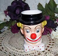 Clown Headvase by Inarco