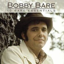 FREE US SHIP. on ANY 2 CDs! NEW CD Bobby Bare: 10 Bare Essentials