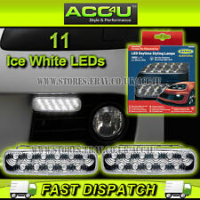 Ring BRL0395 Cruise-Lite Diamond Ice White LED Daytime Running DRL Lamps Lights