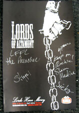 Lords of Altamont Mercy Promotional Poster Signed 2005 Gearhead Records Garage