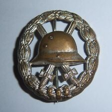 GERMAN  -   Wound Badge, In Silver, Cut Out Type.