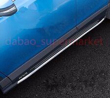 aluminium fit FOR Toyota RAV4 RAV 4  2016-2017 running board side step Nerf bar