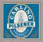 Carling Pilsener Lager Beer Label
