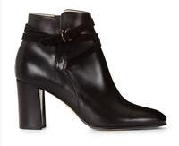 Hobbs Women Black 'Viola'  Ankle boots Size Uk8 Eu41 Rrp£199