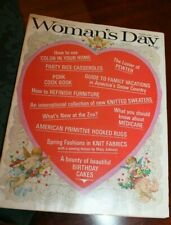 February, 1966 - Woman's Day Valentine issue complete!