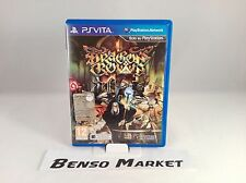 DRAGON'S CROWN VANILLAWARE PS VITA PSVITA PLAYSTATION PAL ITA ITALIANO COMPLETO