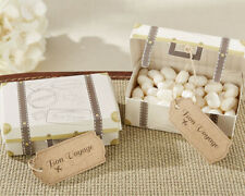 24 Suitcase Travel Candy Boxes Wedding Bridal Shower Party Favors MW34053