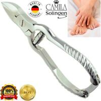 Camila Solingen CS13 Barrel Spring Fingernail Toenail Nipper Clipper
